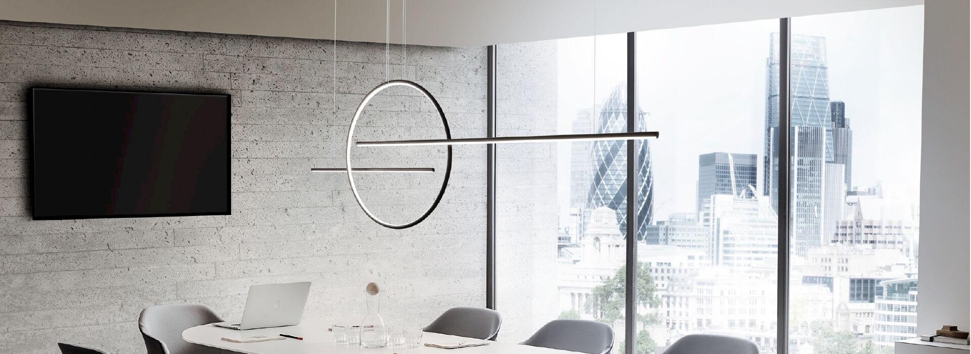 LED design csillárok