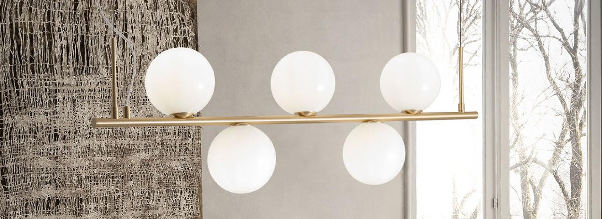 Modern étkező lámpák